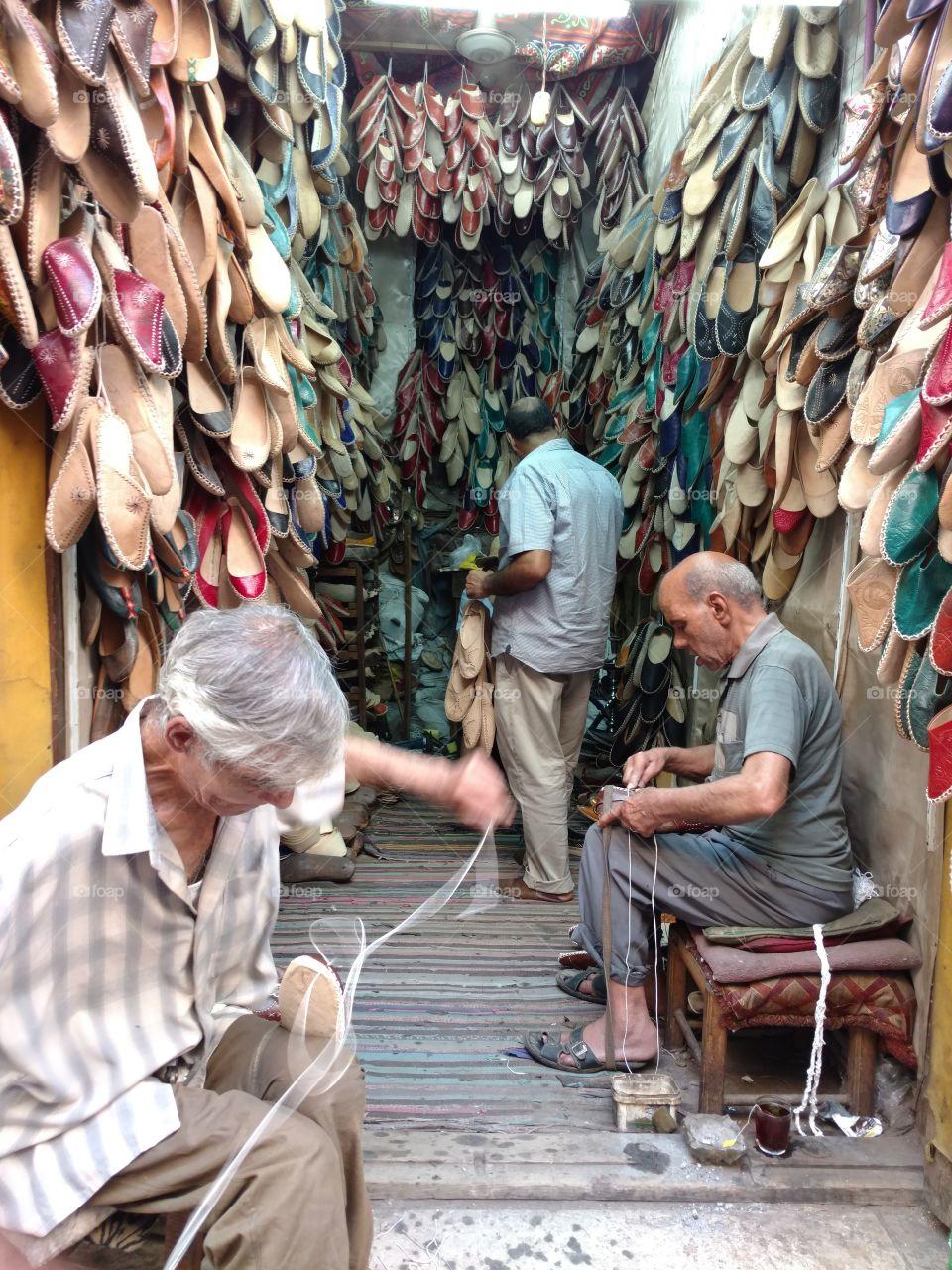 Shoemaker - Al Khayamiyah Street - Old Cairo