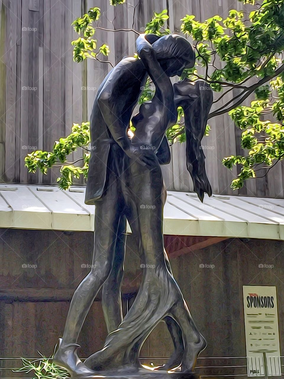 Romeo and Juliet Statue, Central Park, New York City. Instagram,@PennyPeronto