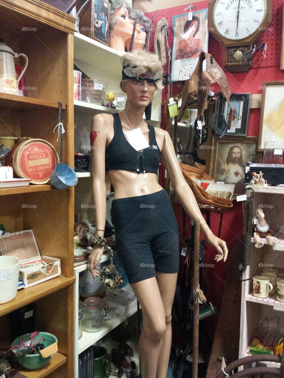 Antique Mannequin