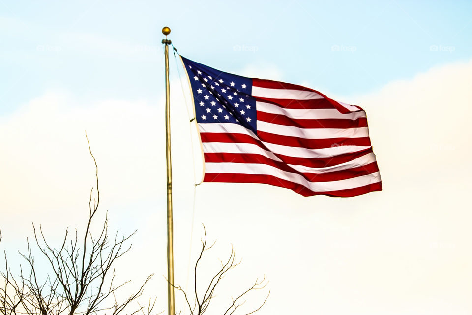 America the Beautiful- local flag in my Neighborhood.