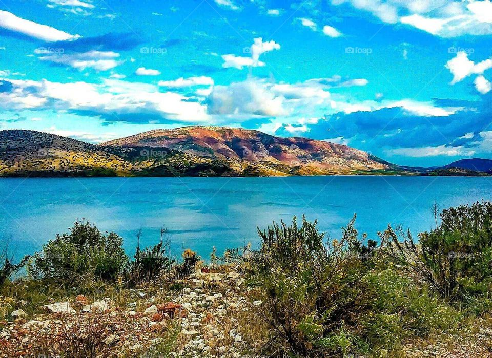 Lake in Albania