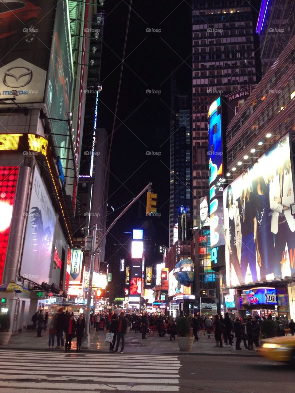 New York Time Square Night