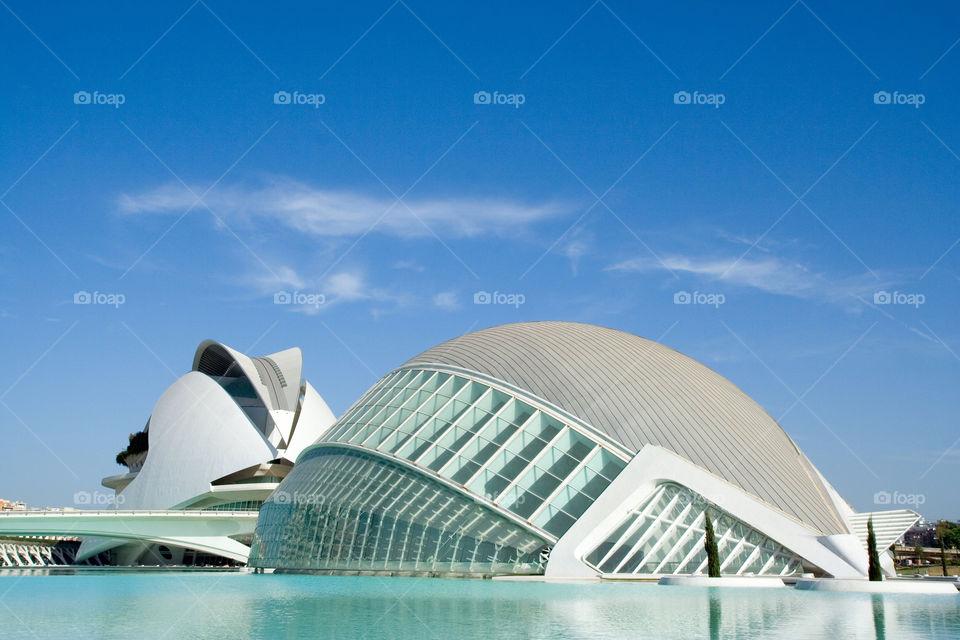 sky blue water modern by ventanamedia