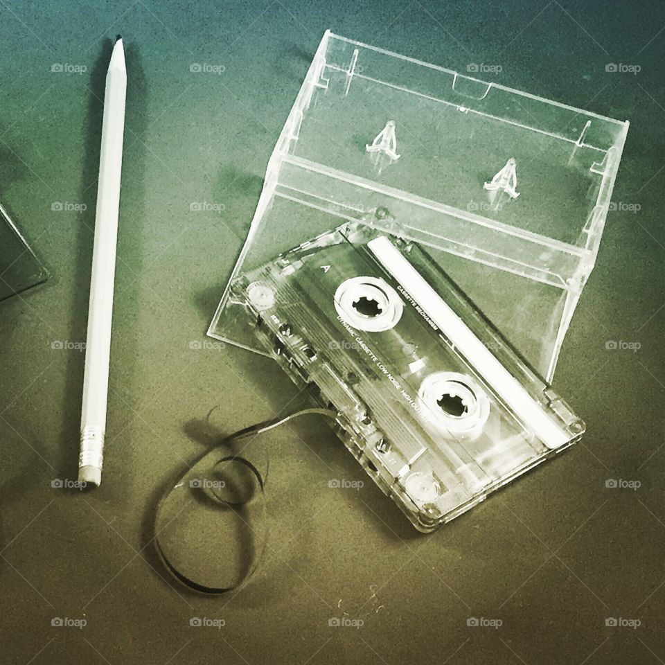 Back when the cassette was popular and when the tape would come out, the best fix was to use a pencil to get things working again