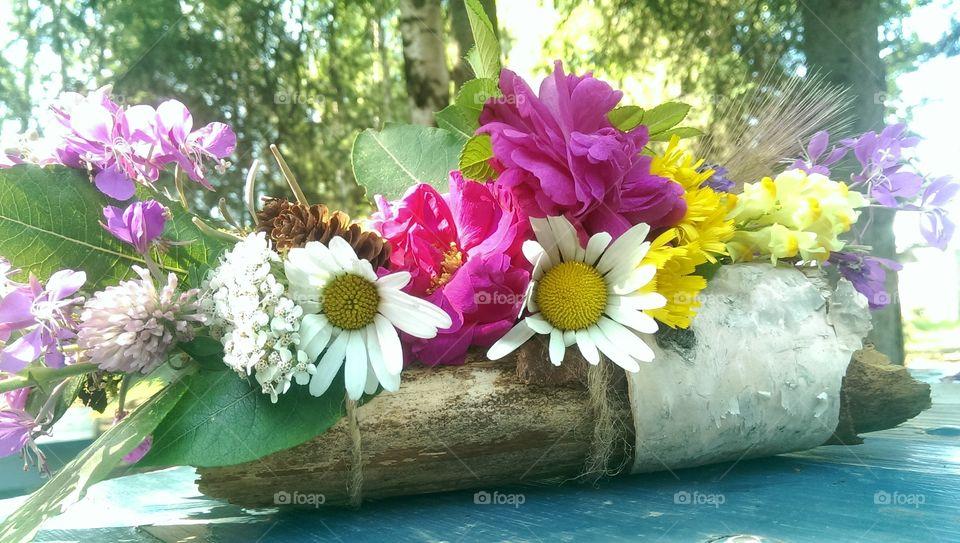 floral decor. Flowers