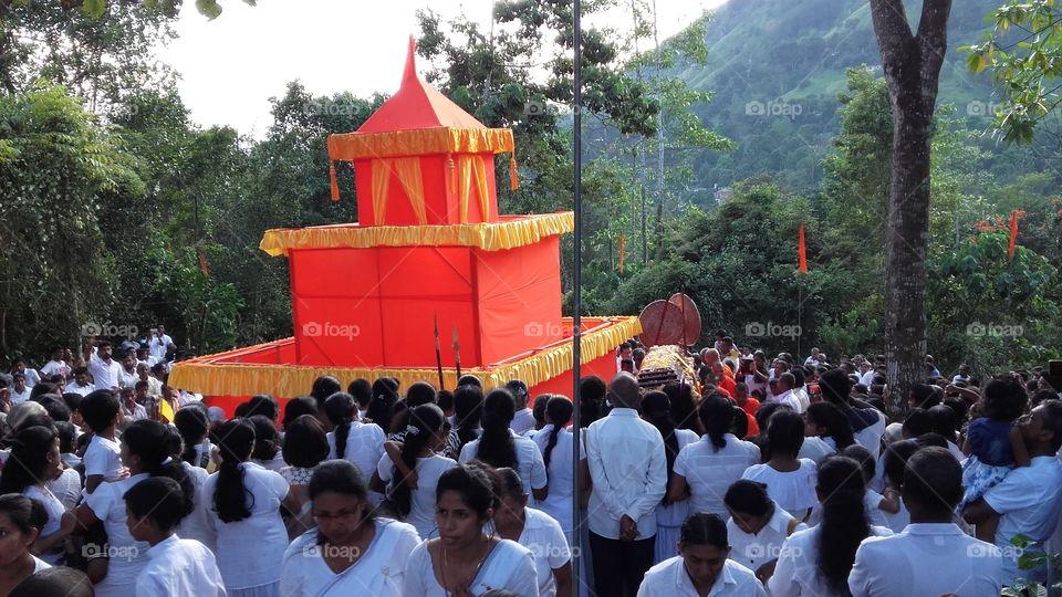 Buddhist monk funeral