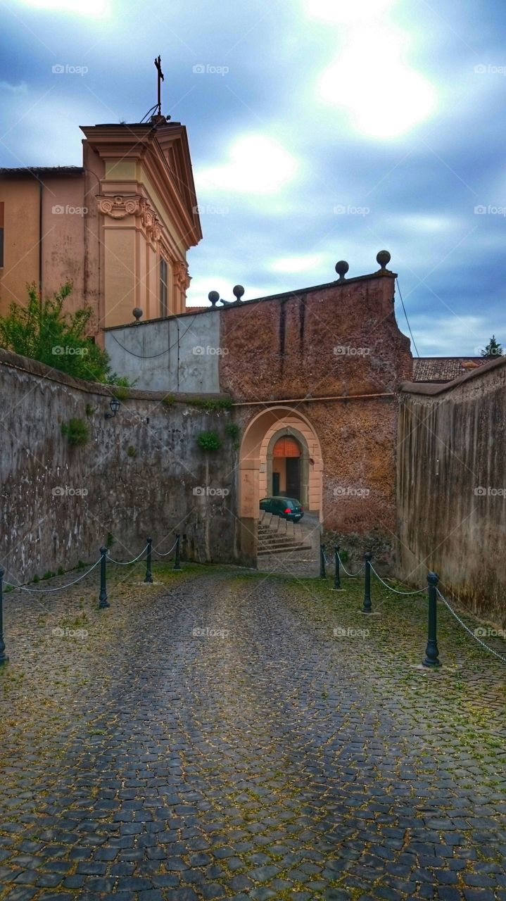 old town.  Albano