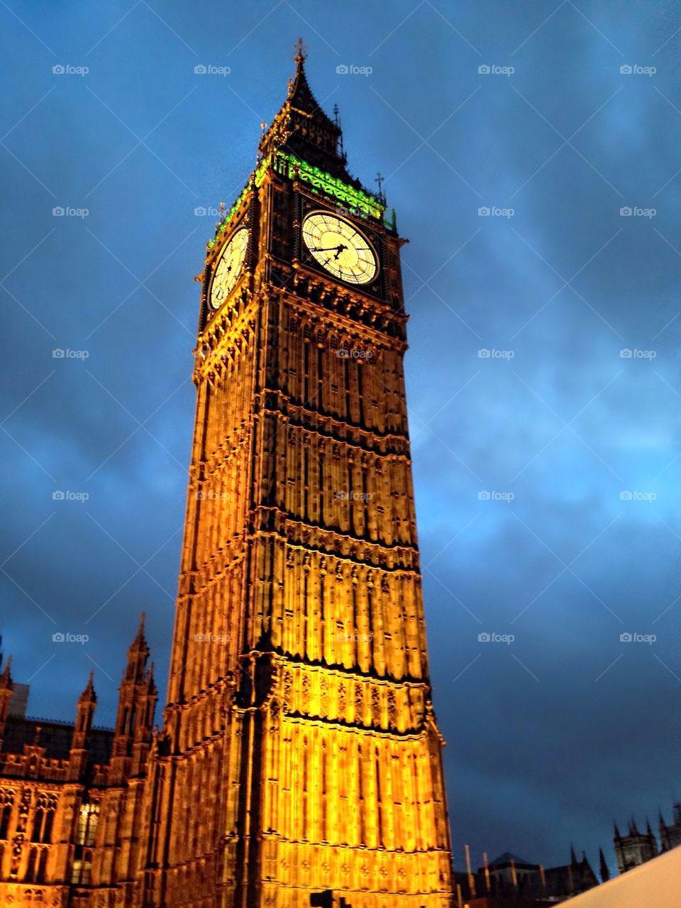 Big Ben Evening